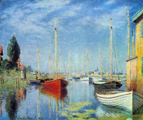 Monet - Pleasure Boats at Argenteuil