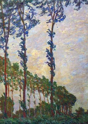 Monet - Poplar series, wind