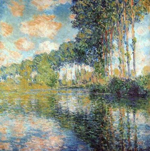 Monet - Poplars on the Epte