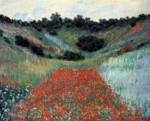 Monet - Poppy field in Giverny