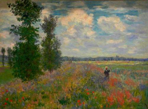 Poppy field, Argenteuil