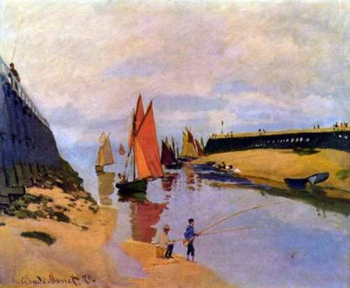 Monet - Port of Trouville