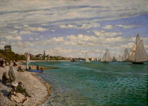 Regatta at St. Adresse