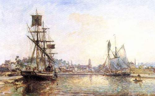 The Honfleur Port2