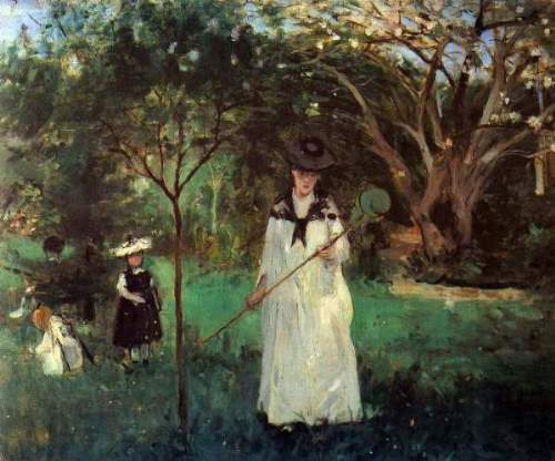 Morisot - Butterfly hunting