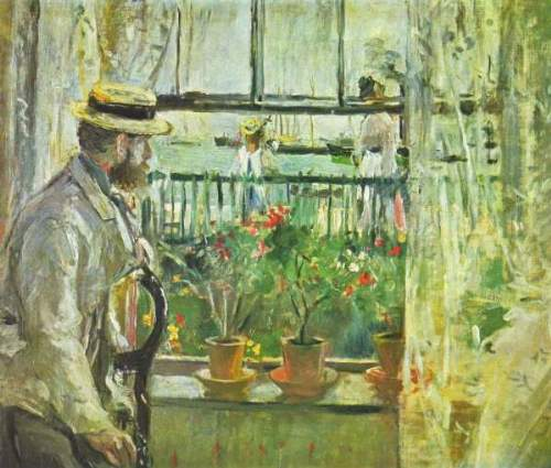 Morisot - Eugene Manet on the Isle of Wight