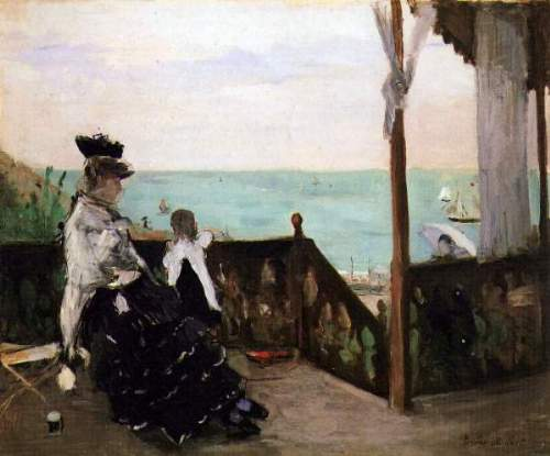 Morisot - In a villa on the beach