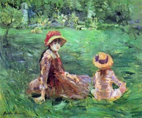 Morisot - In the garden at Maurecourt