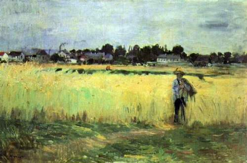Morisot - In wheat field