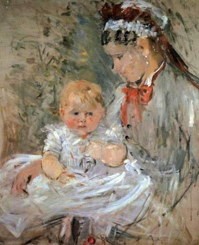Morisot - Julie with her nurse