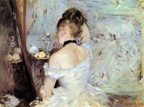 Morisot - Lady in the Toilet