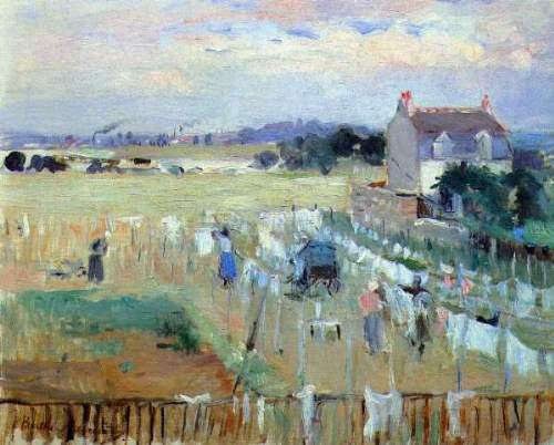 Morisot - Laundry drying