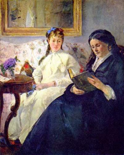 Morisot - Mother and sister of the artist