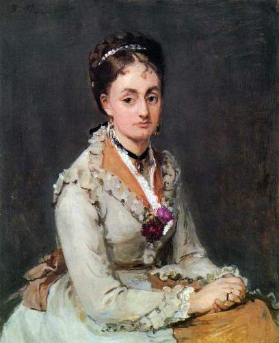 Morisot - Portrait of Edma
