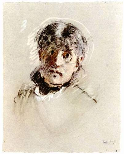 Morisot - Self-Portrait