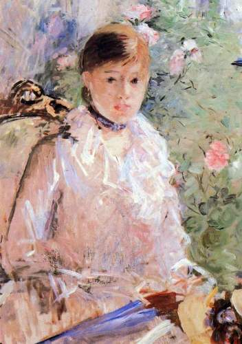 Morisot - Summer (Young woman at the window)