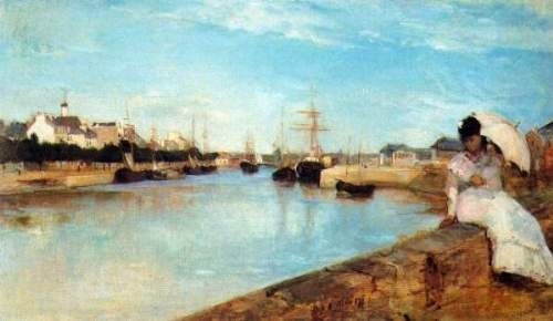 Morisot - The port of Lorient