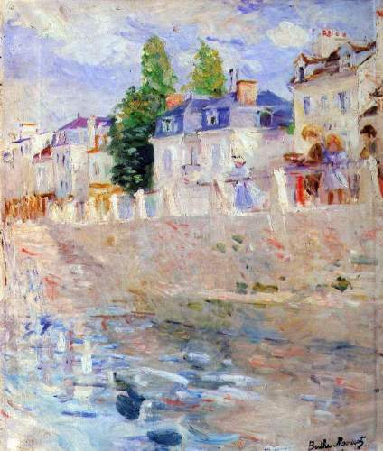 Morisot - The sky in Bougival