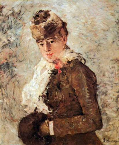 Morisot - Winter (woman with Muff)
