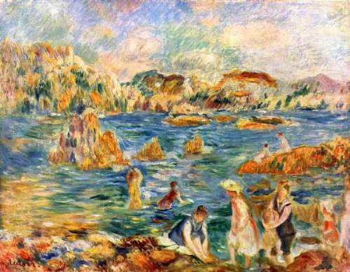 Renoir - At the beach of Guernesey