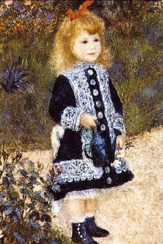 Renoir - Girl with the Watering Can