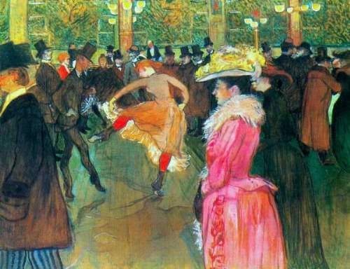 Toulouse - Ball in the Moulin Rouge