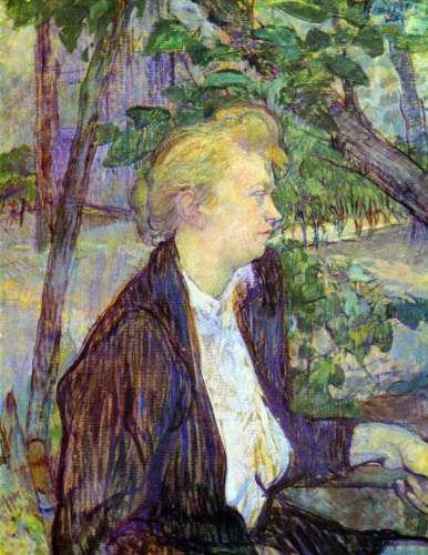 Toulouse - Woman in the Garden
