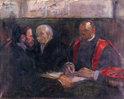 Toulouse-Lautrec - Examination on the academy of medicin