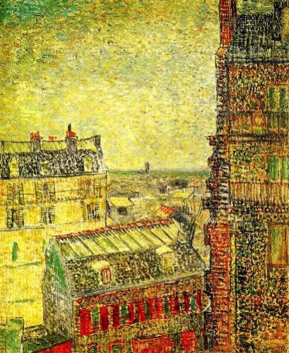 View of Paris from Vincents Room