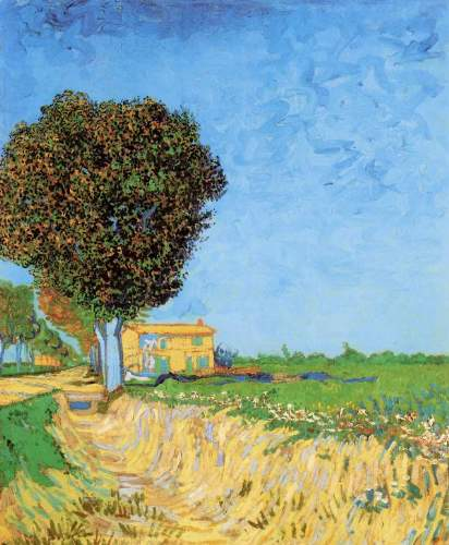Van Gogh - A Lane near Arles