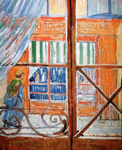 Van Gogh - A Pork-Butchers Shop Seen from a Window