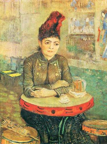Van Gogh - Agostina Segatori in the Cafe du Tambourin
