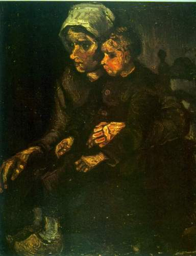 Van Gogh - Child on Lap