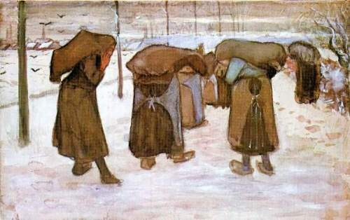 Van Gogh - Coal bearing women