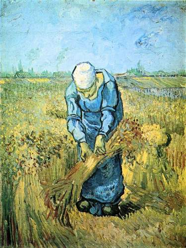 Van Gogh - Farm worker