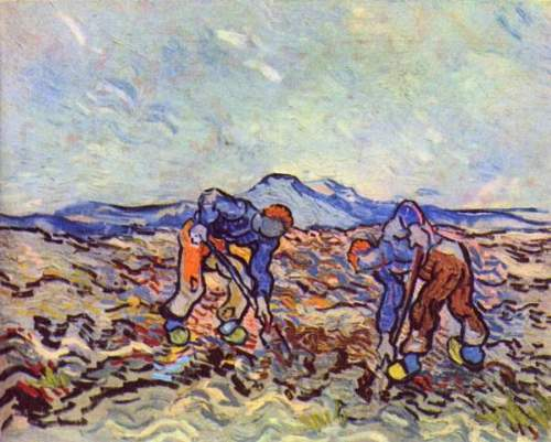 Van Gogh - Farmers at work