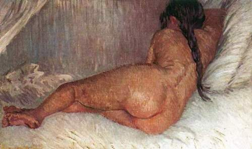 Van Gogh - Female Nude