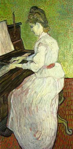 Van Gogh - Mademoiselle Gachet at the Piano