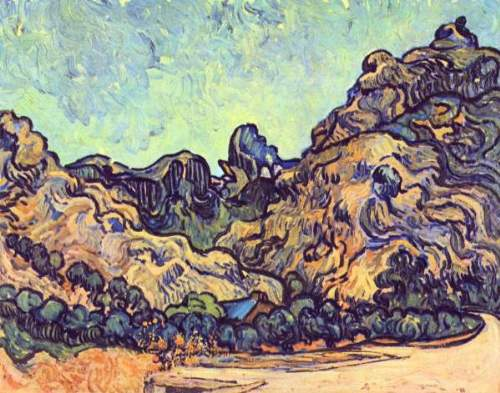 Van Gogh - Mound at Saint-Remy