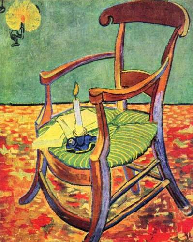 Van Gogh - Paul Gauguin's chair