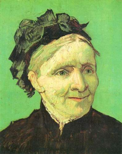 Van Gogh - Portrait of the mother of the artist