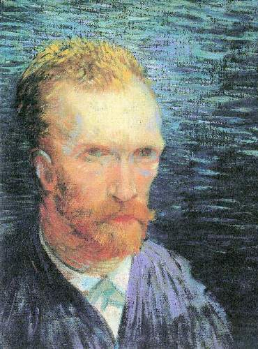 Van Gogh - Self-portrait from the left