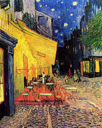 Van Gogh - The Cafe Terrace on the Place du Forum Arles at Night