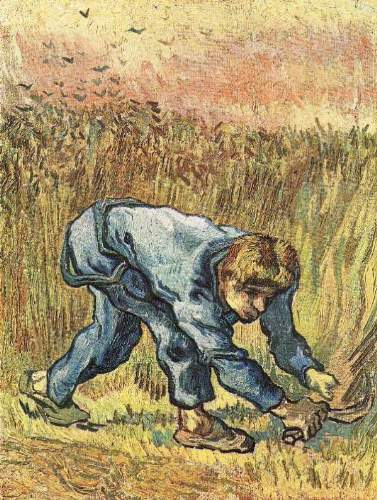 Van Gogh - The sower with sickle