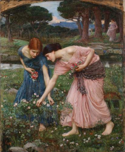 Waterhouse - Gathering Rosebuds