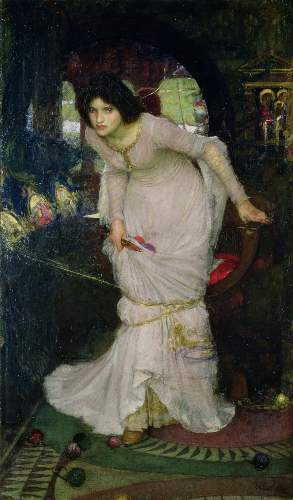 Waterhouse - Lady of Shallot