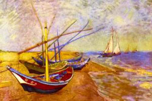 Boats of Saintes-Maries